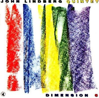 John Lindberg Quintet Dimension 5 NEAR MINT Black Saint Vinyl LP
