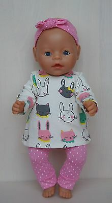 Hand made clothes set for Baby Born or other doll till 43 cm (17 inch)