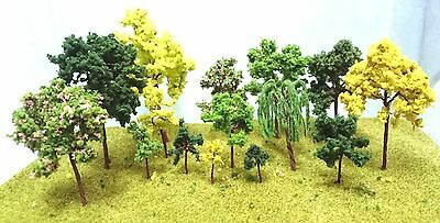 Wire Model Trees for Model Making - 3-16cm High - Railway Architecture Warhammer