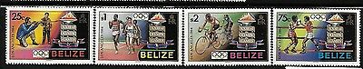 Belize 1984 Summer Olympics Los Angeles shooting Boxing running MNH