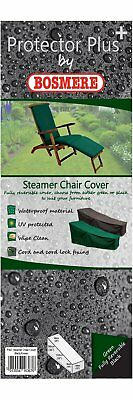BOSMERE P367 Protector Plus Steamer Chair Reversible Cover - Green/Black