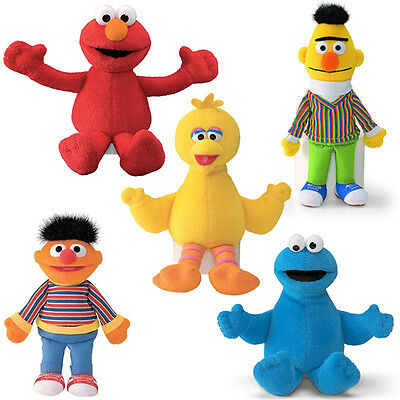 Gund Sesame Street Selection of Soft Toy Character Beanbags
