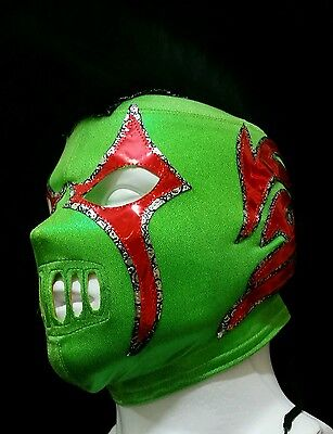 Wrestling Mask Crazy Clown Wrestler Mask Lucha Libre Mexicana Mask Hooligan Punk