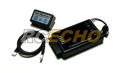 RC Model BVM-8S 1-8 Cell Battery Voltage Meter LiPo LiFe NiCd NiMH BK200