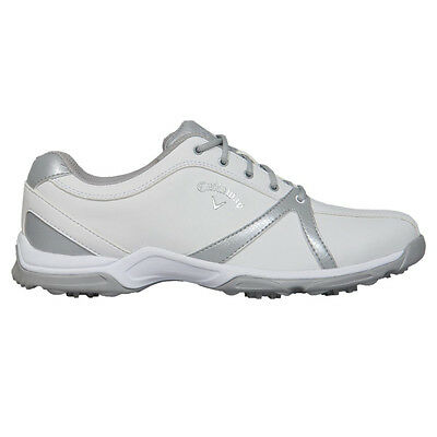 Callaway Ladies Sky Series Cirrus Golf Shoes W599 White UK 8 Wide Women's Shoes