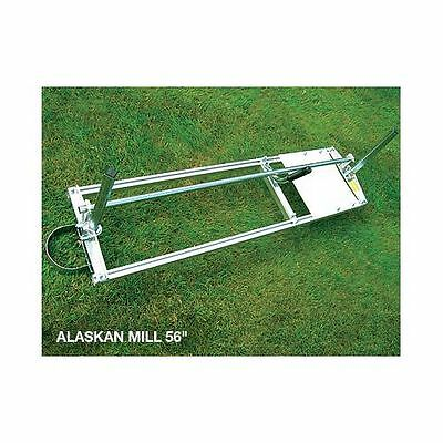 "Granberg Alaskan Mill Mk3 + 56"" handle and rail set ideal for milling / planking"