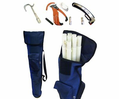 AUS utility fibreglass pro pruning pole set achieves distance and insulation
