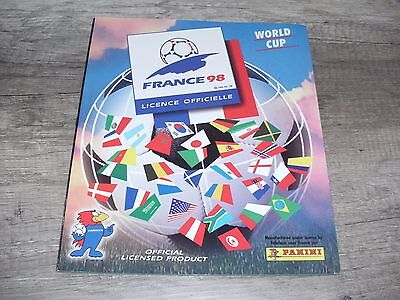 *** Introuvable  Album panini WC World cup FRANCE 98 vide empty