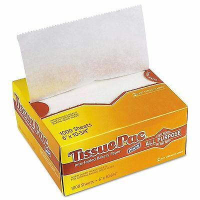 "Dixie Tissue Pac Dry Wax Paper, 6"" x 10 3/4"" (1,000 ct.)"