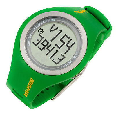 NEW Sigma, PC22.13 Men's Green Heart Rate Monitor