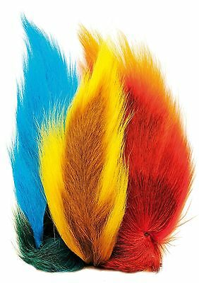 Bucktails Whole Tail Assorted Colours From Veniards Fly Tying Materials