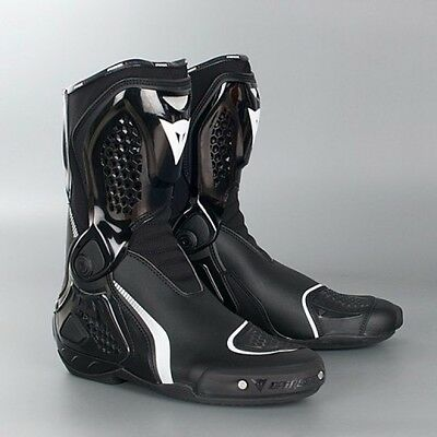 Dainese Tr Course Out Motorcycle Boots Racing Sports Black Size Euro 45