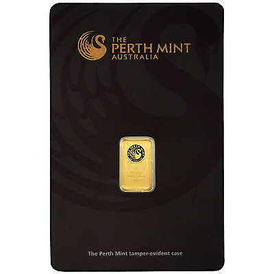 Australian Perth Mint 1 Gram Gold Bar
