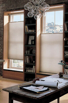 Top down / bottom up cordless light filtering, privacy pleated shade