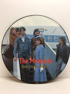 The Monkees Talk Downunder Limited Edition Pic Disc Vinyl Picture Record