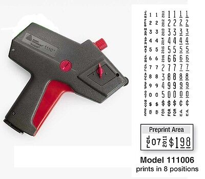 NEW Monarch 1110 PRICE GUN 1110-06 FREE SHIPPING Authorized Monarch Dealer