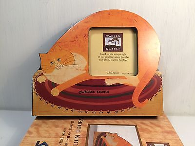 Warren Kimble Ginger Tom Cat Photo Frame