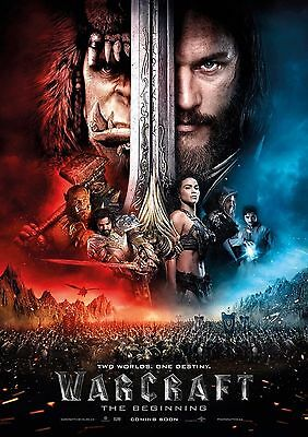 Warcraft - A4 Glossy Poster -TV Film Movie Free Shipping #431