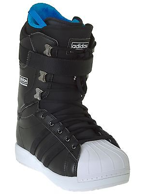 Adidas Core Black-White-White The Superstar Snowboard Boots