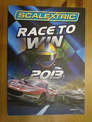 Scalextric 2013 Catalogue - 54th Edition - C8176 - Used Extremely Good Condition