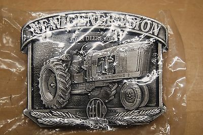 "John Deere ""New Generation John Deere 4010 40th Anniversary"" Belt Buckle New"