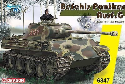 Dragon 1/35th Scale Pz Bef. Wg. V Panther Ausf. G Kit No. 6847