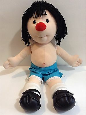 """Original 1995 The Big Comfy Couch Jumbo 28"""" Molly Doll Missing Dress Great Shape"""
