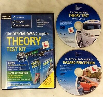 Official DVSA Complete Theory / Hazard Test Kit