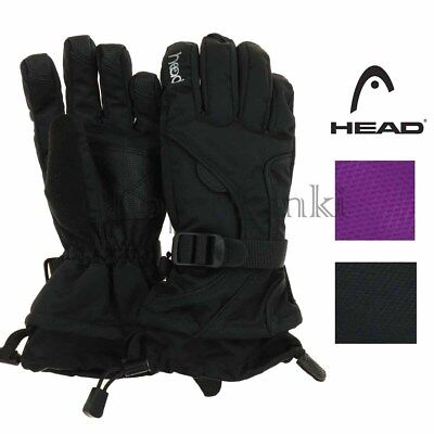 Head Junior Youth Dupont Sorona Waterproof Insulated Ski Glove With Pocket