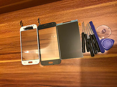 For Samsung Galaxy Core Prime SM-G361F Touch Screen Digitizer White / Black