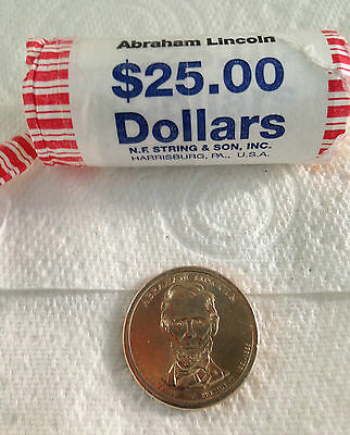Abraham Lincoln 2010  P or D  US PRESIDENTIAL 1 DOLLAR UNC COMMEMORATIVE  COIN