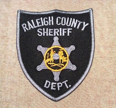 WV Raleigh County West Virginia Sheriff Patch