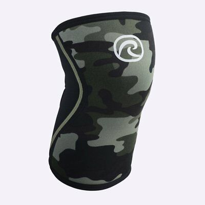 New Rehband 7mm Rx Knee Sleeve - Camo - SINGLE from The WOD Life