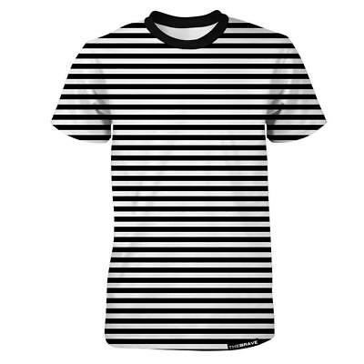 New The Brave Men's Ath-Leisure Shirt - Black/White from The WOD Life