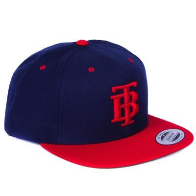 New The Brave Snapback - Red & Navy from The WOD Life