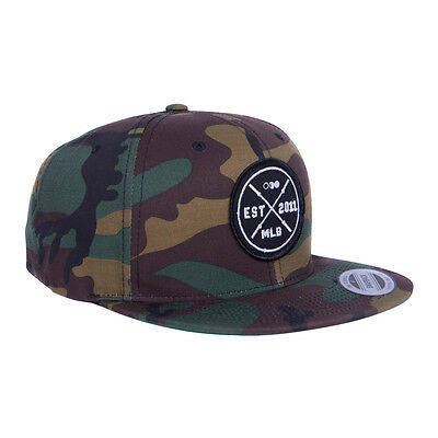 The Brave Snapback - Camo Barbell Club Snapback The WOD Life Crossfit