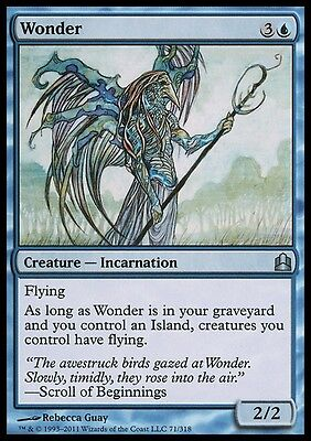 Wonder ~ Excellent+ ~ Magic The Gathering