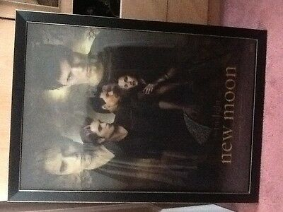 The twilight saga new moon holographic framed and glazed picture