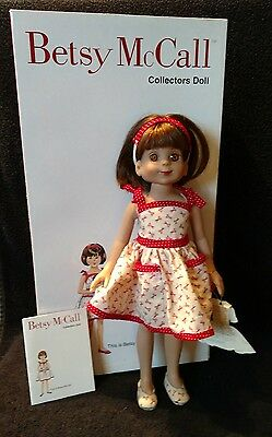 """Tonner Betsy McCall doll 13"""" in box"""
