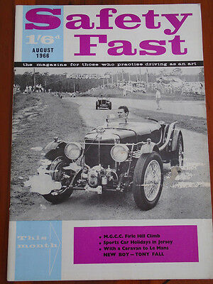 Safety Fast Aug 1966