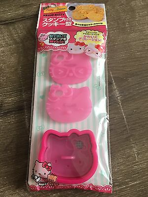 NEW Hello Kitty Sanrio Japan Cookie Biscuit Cutters Baking Cake Decorating