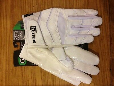 Cutters X40 White Receivers Gloves