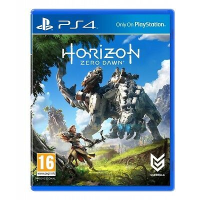 Horizon Zero Dawn PS4 Game Brand New