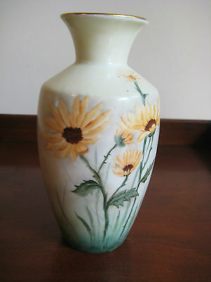 """Antique Moritz Zdekeuer Vase  Artist Signed And Dated  1918 Austria  6 """" Tall"""