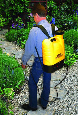 Hudson Motorized Backpack Sprayer Electric Rechargable Battery Operated 4 Gallon
