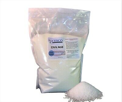 Organic Citric Acid – Food Grade, Anhydrous, Natural, Non-GMO, FCC/USP – 10 lbs