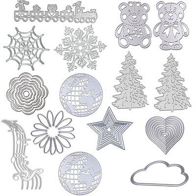 Metal Cutting Dies Stencil For DIY Scrapbooking Embossing Paper Card Decor