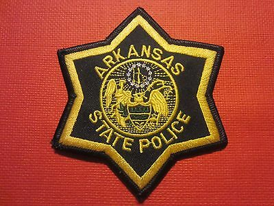 Collectible Arkansas State Police Patch New