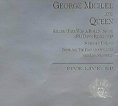 George Michael & Queen - Five Live EP -  CD 54VG The Cheap Fast Free Post