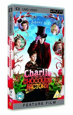 Charlie And Chocolate Factory [UMD Mini for PSP] - DVD  54VG The Cheap Fast Free